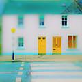 Yellow Doors by Jan W Faul