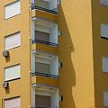 Yellow Dwelling by Jez C Self