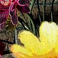 Yellow Floral by Ann Hughes