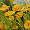 Yellow Flowers by Lisa Konkol