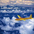 Yellow Glider by Ray Mains - Printscapes
