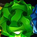 Yellow Green And Blue by Lori Seaman