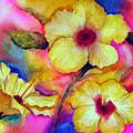 Yellow Hibiscus by Tina Storey