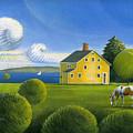 Yellow House by John Deecken
