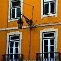 Yellow Italian Building by Eric Tressler