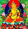 Yellow Jambhala 17 by Jeelan Clark