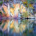 Yellow Lake Abstract by Tara Turner