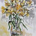 Yellow Lillies by Abbie Rabinowitz