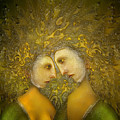 Yellow Lovers by Surrealism