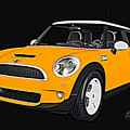 Yellow Mini  by Edier C