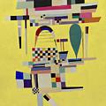 Yellow Painting by Vassily Kandinsky