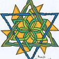 Yellow Pinnwheel by Scott King