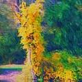 Yellow Reflections by David Lane
