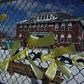 Yellow Ribbons At Groveton Elementary  by Dorothea Abbott