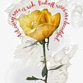 Yellow Rose by Joe LeGrand