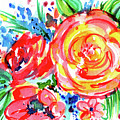 Yellow Rose Red by Nada Meeks