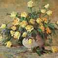 Yellow Roses by Jeannette Agnew Lyon