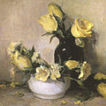 Yellow Roses by Joan DaGradi