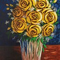 Yellow Roses by Katherine Young-Beck