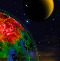 Yellow Sea On Kepler 186d by Chuck Mountain