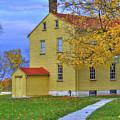 Yellow Shaker House 2 by Sam Davis Johnson
