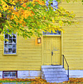 Yellow Shaker House by Sam Davis Johnson