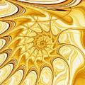 Yellow Shell by Anastasiya Malakhova