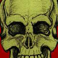 Yellow Skull by Nikolaos Chantzis