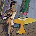 Yellow Table II by Noredin Morgan