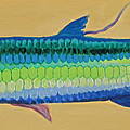 Yellow Tarpon by Anne Marie Brown