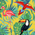 yellow tropic  by Mark Ashkenazi