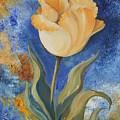 Yellow Tulip by M B