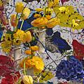 Yellow Tulips by Sonia Melnikova-Raich