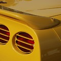 Yellow Vette Lights by Rob Hans