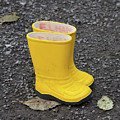 Yellow Wellies by Louise Heusinkveld