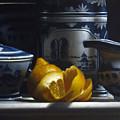 Yellow White Blue by Lawrence Preston