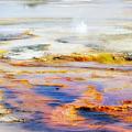Yellowstone Abstract II by Teresa Zieba