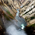 Yellowstone Fall by Marley Hornewer