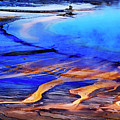 Yellowstone Grand Prismatic Spring Geothermal Water by Lane Erickson