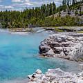 Yellowstone Grand Prismatic Spring by Patrick Garrett
