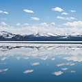 Yellowstone Lake Reflection by Max Waugh