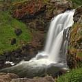 Yellowstone Moose Falls by Adam Jewell