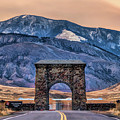 Yellowstone National Park North Entrance by Christopher Arndt