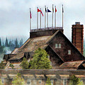 Yellowstone National Park Old Faithful Inn by Christopher Arndt