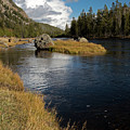 Yellowstone Nat'l Park Madison River by Cindy Murphy - NightVisions