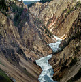 Yellowstone River Below Lower Falls 2p by Frank Madia