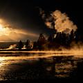 Yellowstone River Sunrise by Sandra Bronstein
