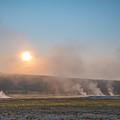Yellowstone Sunrise  by Michael Ver Sprill