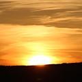 Yellowstone Sunset by John Connor Bray