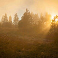 Yellowstone Sunset by Paul Kukuk